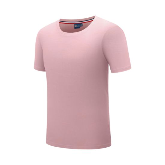 Crew Neck Short Sleeve Cotton Print Custom T Shirt Men