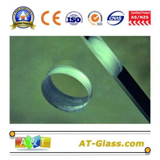 3-19 Tempered Glass/Toughened Glass/Bullet-Proof Glass/Building Glass/Deep Processing, Polishing Edging, Hole Punching pictures & photos