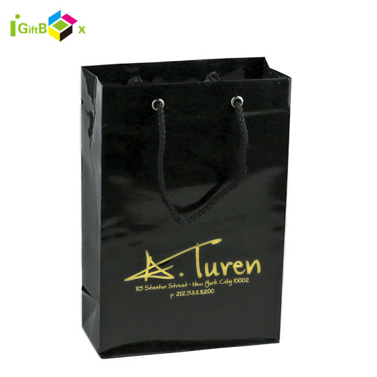 Custom Printed High Quality Boutique Paper Bags