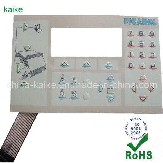 Embossed Overlay Membrane Switches (KK-201303)