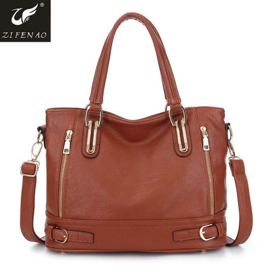6ff949ec75 China 2018 New Fashion Casual Design Ladies PU Handbag - China Women ...