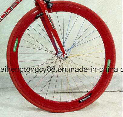 700c Steel Single Speed Bicycle/Bike with Colorful Frame (SH0-FX01) pictures & photos