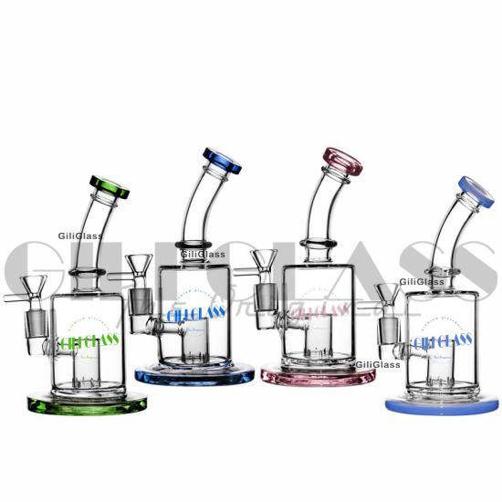Giliglass 8 Inches Mini Glass Pipe DAB Rig