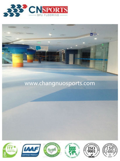Seamless Indoor Sports Flooring Surface for Gymnasium, Fitness Centre, Dancing Room pictures & photos