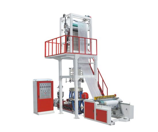 Fully Automatic Plastic Film Blowing Machine for Mixing Material (Chsj-45/50q)