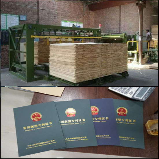 CNC Woodworking Machine Servo Motor Plywood Core Veneer Composing Machine pictures & photos