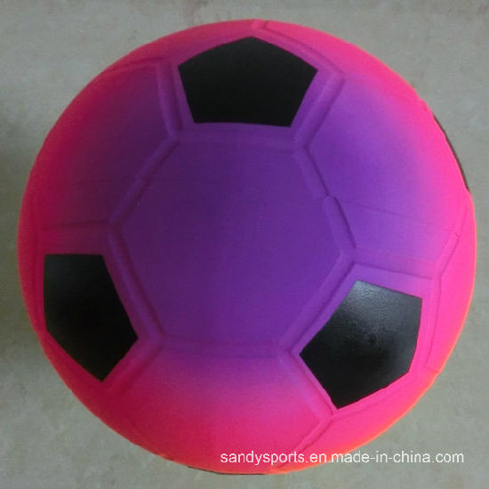 PVC Toys Inflatable Color Printing Rainbow Kicker Toy Soccerball pictures & photos