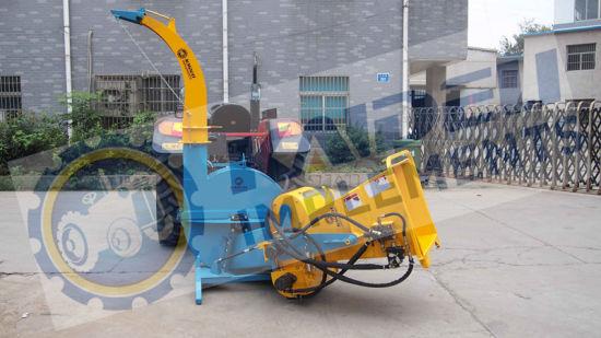 CE Standard Hydraulic Feeder Wood Chipper