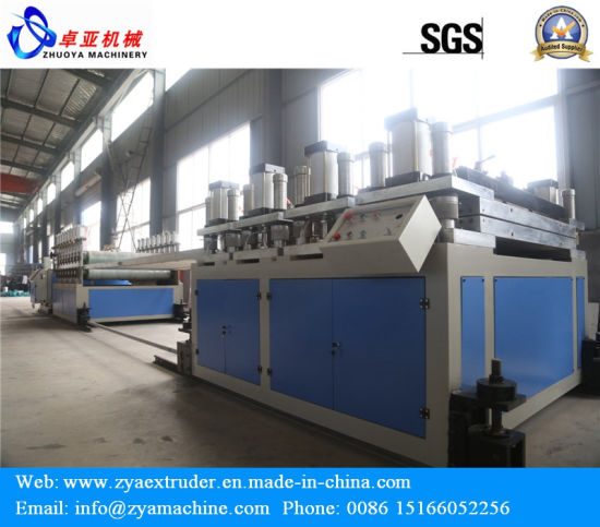 PVC Celuka/Crust/Skinning Foam Board/Sheet Extrusion Line/Extruder Machine pictures & photos
