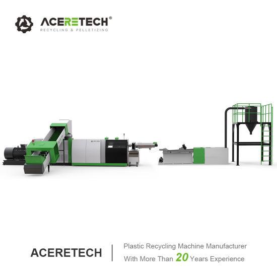 Aceretech Environmental Plastic Pelletizing Machine Price
