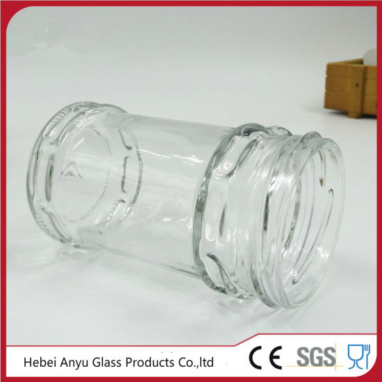 Factory Wholesale Glass Bottle Glass Pickle Jar for Food with Tinplate Screw Cap pictures & photos