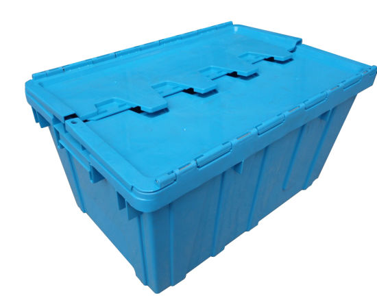 600*400 Large Nestable Plastic Turnover Storage Container Boxes