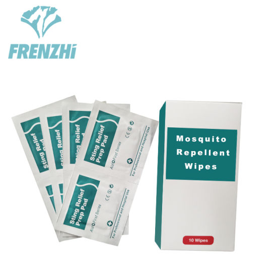 Mosquito Sting Relief Wet Wipes Anti Mosquito Repellent Wipes