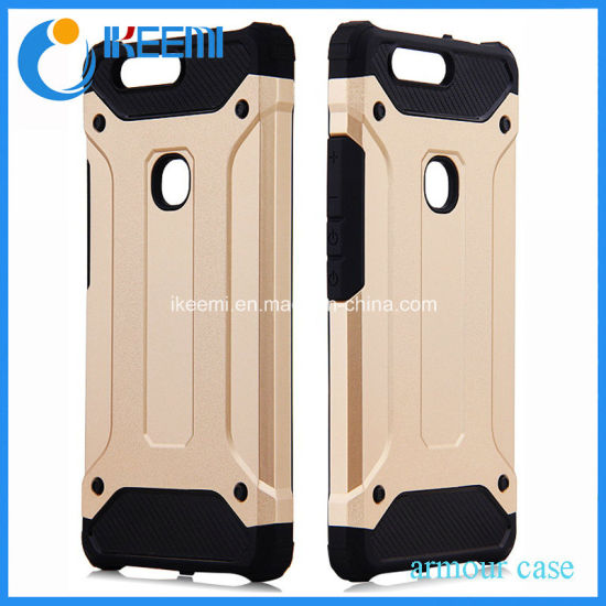 China Factory Mobile/Cell Phone Plastic PC+TPU Cover Case for Huawei V8