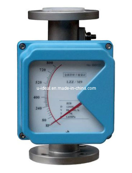 China Metal Tube Rotameter Flow Meter Float Type Flowmeter