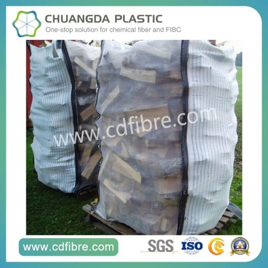 PP FIBC Ton Woven Bag for Packing Firewood pictures & photos