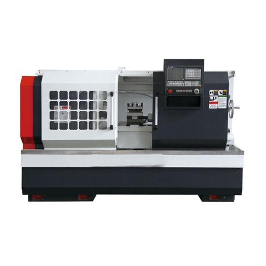 Horizontal Small Flat Bed CNC Lathe Machine (CK6140D)