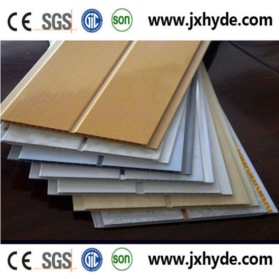 Patter Colors Construction Material PVC Panel Wall Decoration Panel pictures & photos