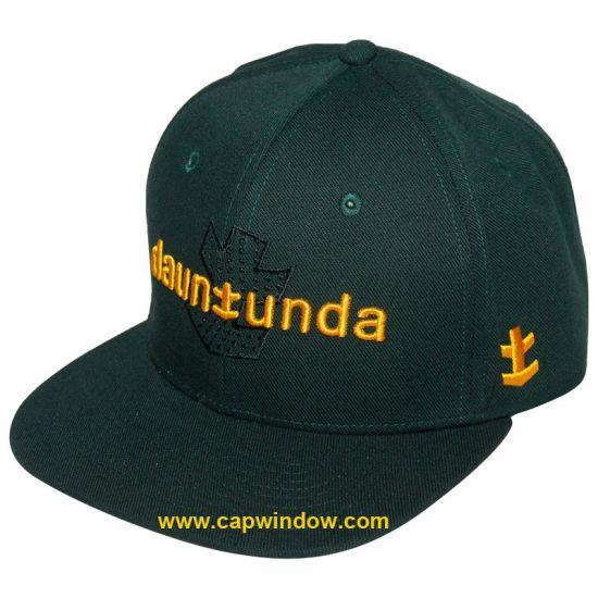45b74e77cf8 China Green Wool Snapback Hats Bucket Hat (CW-0768) - China Snapback ...