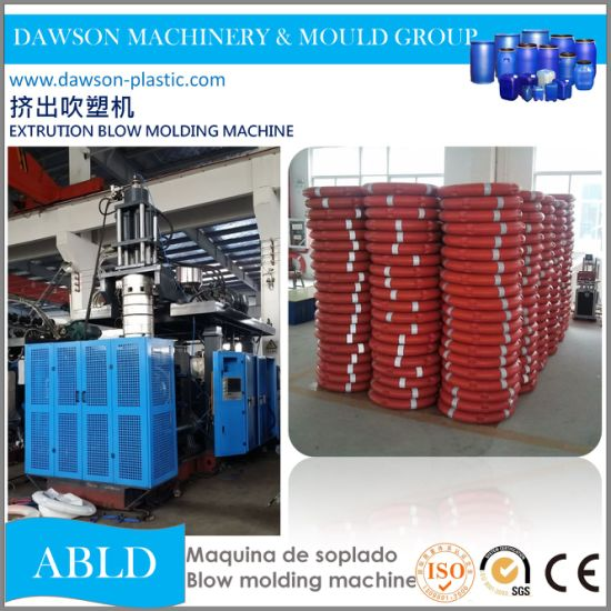 120L HDPE Accumulation Extrusion Blow Molding Machine for Making Life Buoy pictures & photos