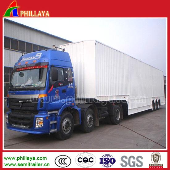 Large Box Cargo Van Semi Trailer for Truck