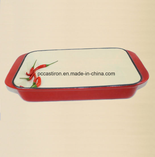 Enamel Cast Iron Baking Dish Pan Manufacturer From China pictures & photos