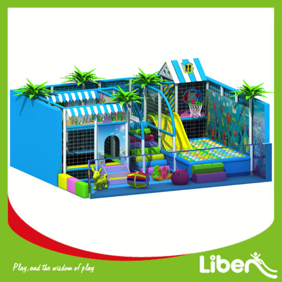 China Kids Plastic Toy Ocean Themed Indoor Playground Equipment for ...