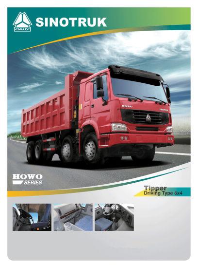 Top Quality Dump Truck of HOWO Truck 8X4