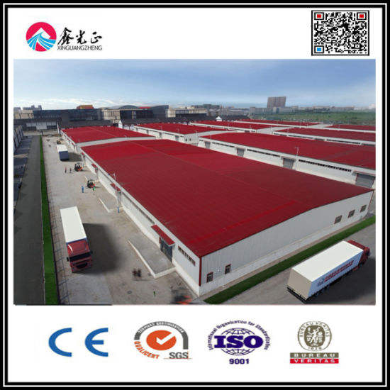 Ce Approved Lightweight Steel Structure Workshop /Warehouse