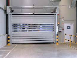 Strong Commercial Security Aluminum Spiral High Speed Hard Fast Rolling Doors