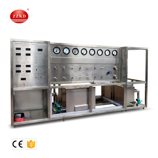 Hemp Cbd Supercritical CO2 Fluid Extraction Machine for Essential Oil Extraction