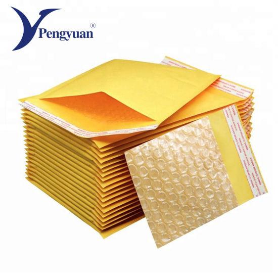 Custom Kraft Paper Envelope Bubble Bag
