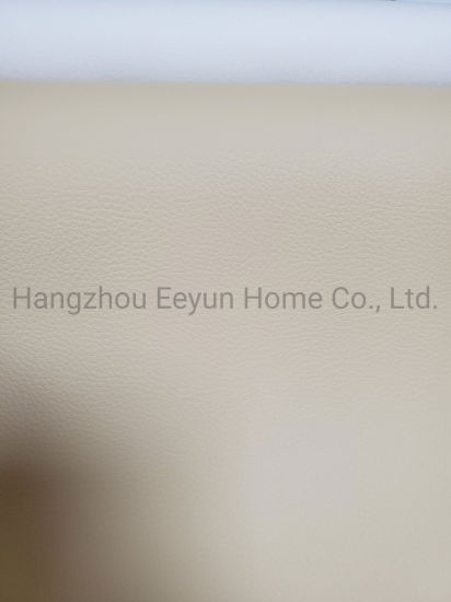 70%PU 30%PES Environmentally Friendly Solvent-Free Leather for Sofa Decoration