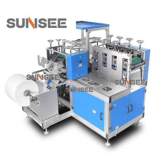 High Speed Disposable Non-Woven Shoes Cover Making Machine