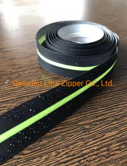 Water Proof Zipper with Colored Tape and Fancy Puller/Contrast Color/Fashion
