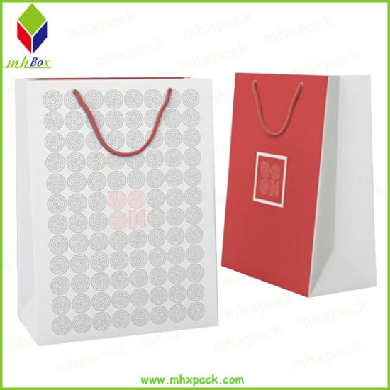 Customized Handle Paper Packaging Gift Bag