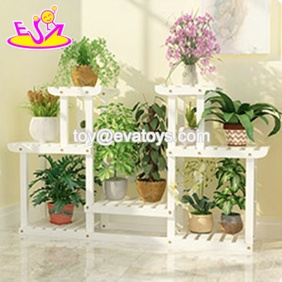 Movable Outdoor Plant Shelves And Racks