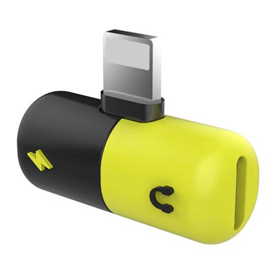 Capsule Pill Lightning Splitter Adapter