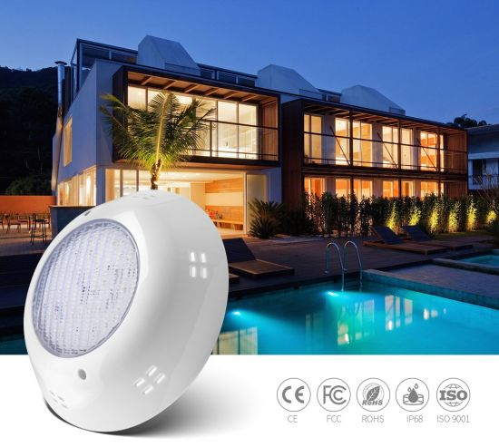 18W ABS Material 12V IP68 Structure Waterproof Swimming LED Pool Wall Mounted Light