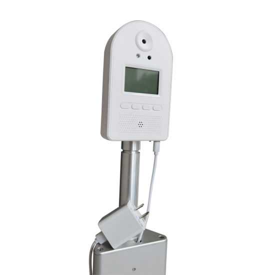 Free Hand Thermometer with LCD Display for Factory