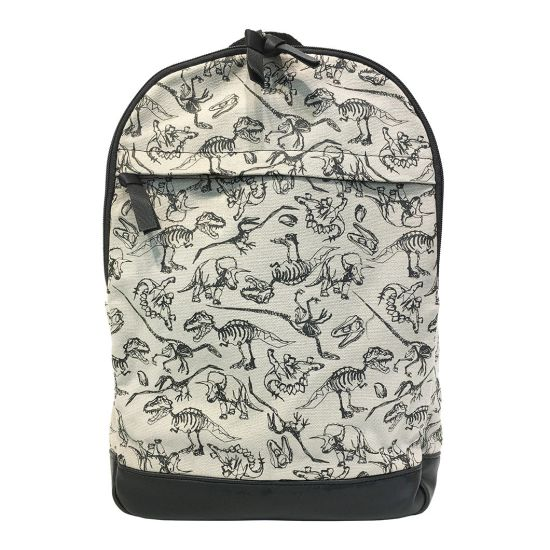 100% Poly Microfiber Dragon Partten Canvas Shoulder Bags Fashion Backpack