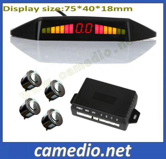 3 Color LED Digital Display Smart Car Parking Sensor with Reversing Radar
