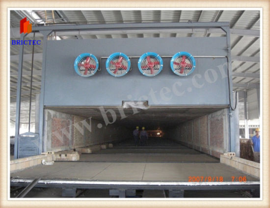 Tunnel Kiln for Clay Brick Firing pictures & photos