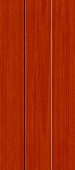 Solid Wood Skeleton Non-Painting PVC Film Finished Interior Wood Door (HHD-060)