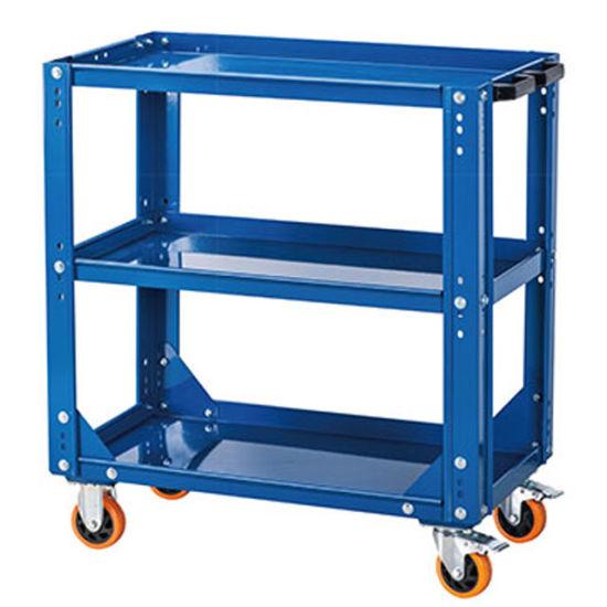 Kinbox Wholesale Garage Storage Cabinet CNC 3-Layer Trolley