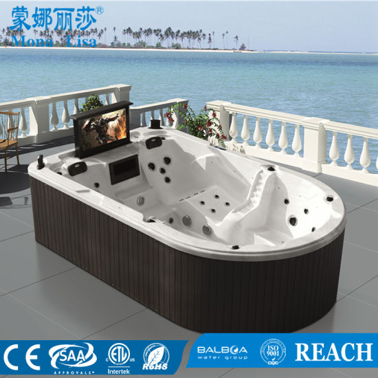 Monalisa Outdoor Whirlpool Jacuzzi Hot Tub SPA With TV (M 3361)