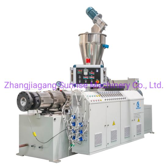 Professional Factory for HDPE PVC UPVC PPR Pipe Extrusion Production Line