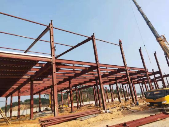 China Easy Installation Steel Structure Building Material For