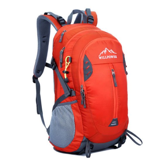 China Large One Compartment Custom Backpack Manufacture - China ... 4ef9bb50ad