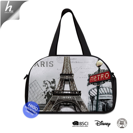 China 3D Print Famous Scenery Design Your Own Gym Bag Cute Trip Bags ... 238abae12015e